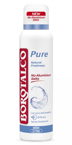 Borotalco Pure Natural freshness Spray 150ml