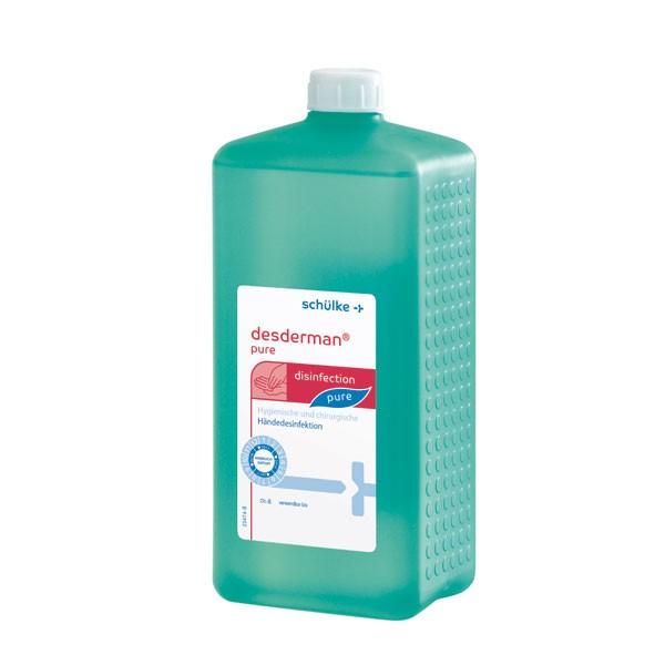 Schülke desderman® care Handdesinfektion 1L Euroflasche