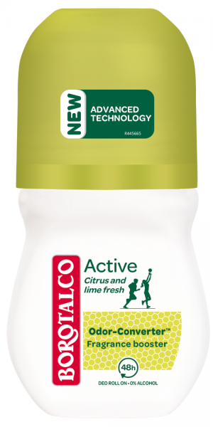 Borotalco Active Citrus and lime fresh Roll-on 50ml