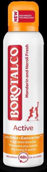 Borotalco Active Mandarin and Neroli fresh Spray 150ml