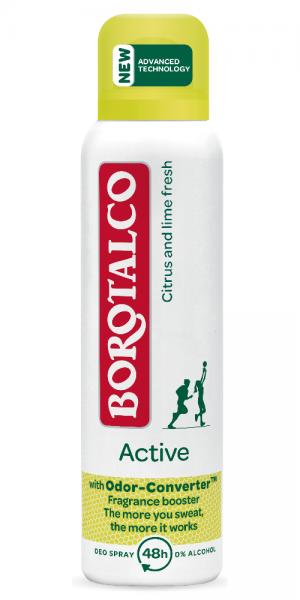 Borotalco Active Citrus and lime fresh Mini-Spray 45ml