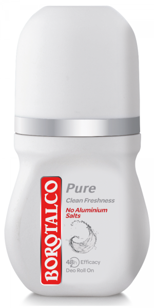 Borotalco Pure Clean freshness Roll On 50ml